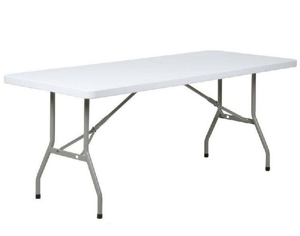 ZYS 1.8m Folding Table - White offer at R 649