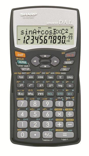 Sharp EL-531WHB Scientific Calculator  offer at R 119