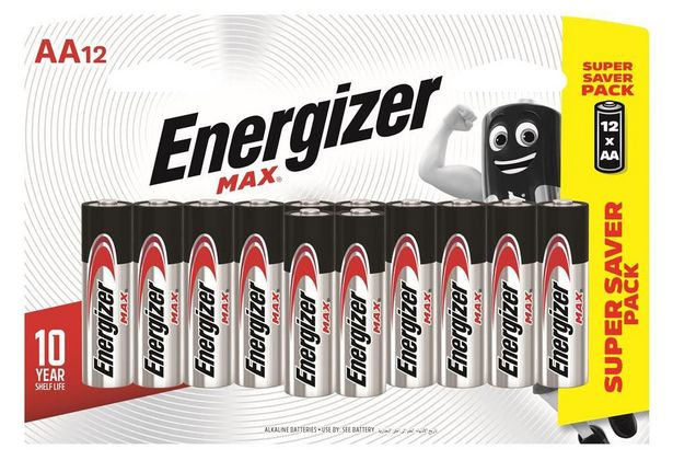 Energizer Max AA 1.5V Batteries offers at R 99