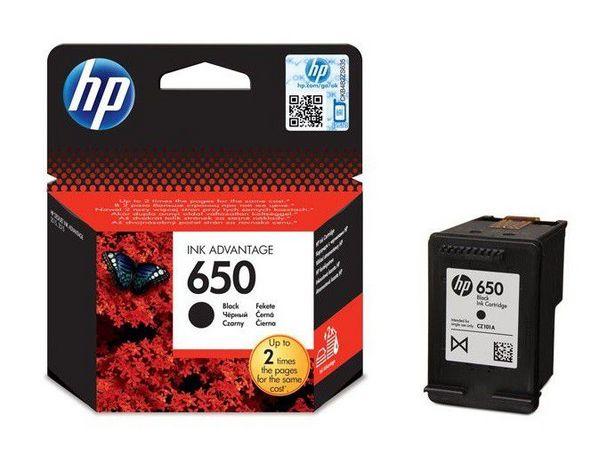 HP 650 Black Ink Cartridge offer at R 289