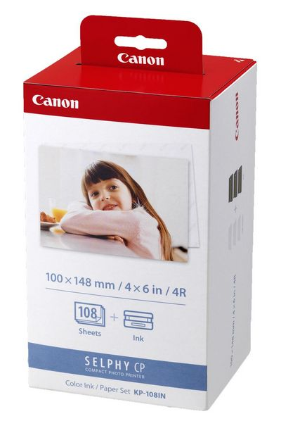 Canon Selphy KP-108IN Ink and Paper Set (108 Prints) offers at R 539