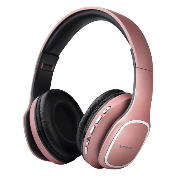 Volkano Phonic Series Bluetooth Headphones - Rose Gold offers at R 345