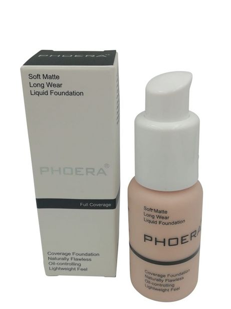 Phoera Soft Matte Full Coverage Liquid Foundation offer at R 197
