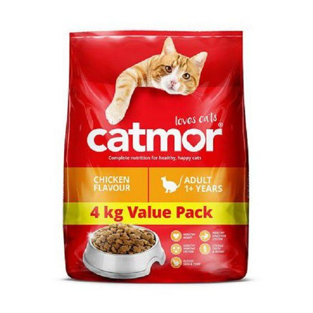 Catmor - Dry Cat Food - Chicken - 4kg offer at R 125