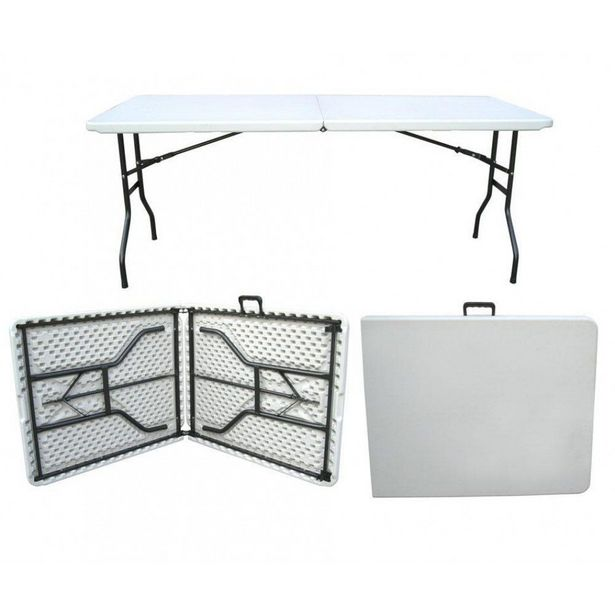 Ally & Co 1.8m Folding Table (Off-White) - Made in SA offer at R 619