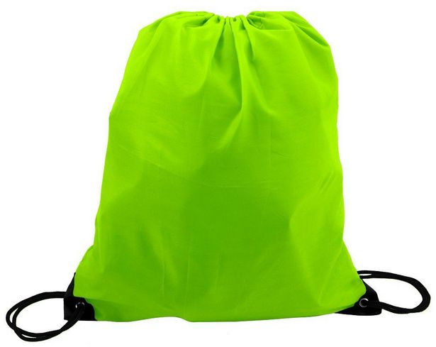 Marco 210T Poly String Bag - Lime Green offer at R 15