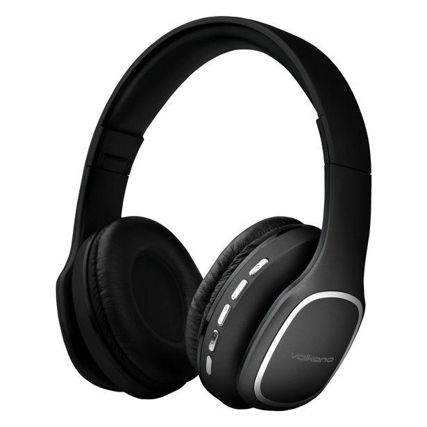 Volkano Phonic Series Bluetooth Headphones - Black offer at R 345