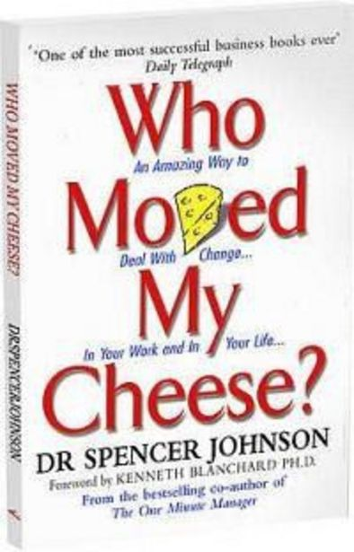 Who Moved My Cheese offer at R 119