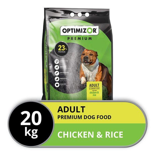 Optimizor - Premium Dry Dog Food - 20kg offers at R 380
