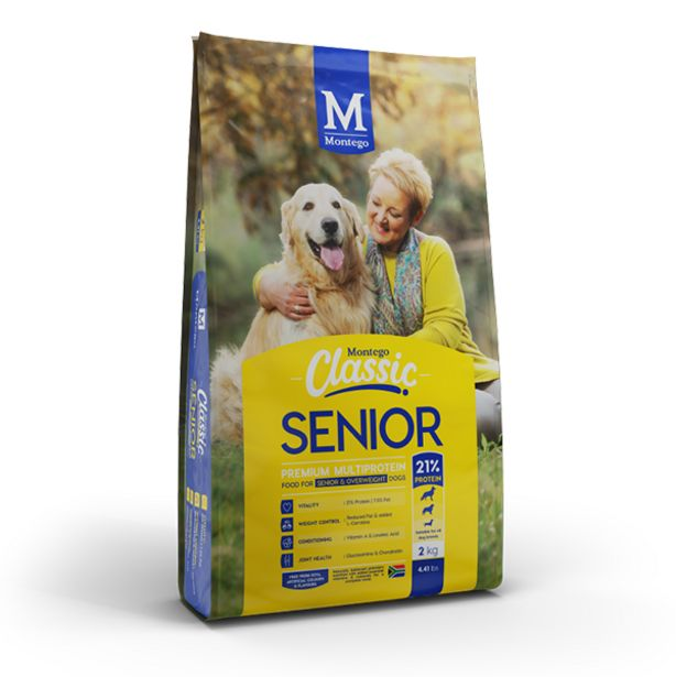 Montego - Classic Senior - Dog Food offers at R 65