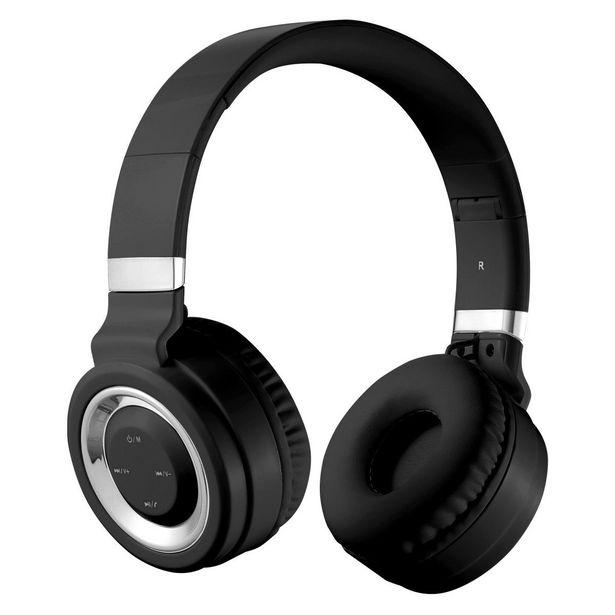 Volkano Lunar Bluetooth Headphones - Black & Silver offer at R 345