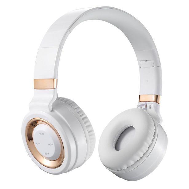 Volkano Lunar Bluetooth Headphones - White & Rose Gold offer at R 310