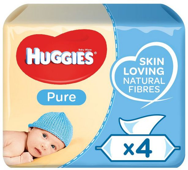 Huggies Pure Baby Wipes 224s offers at R 89