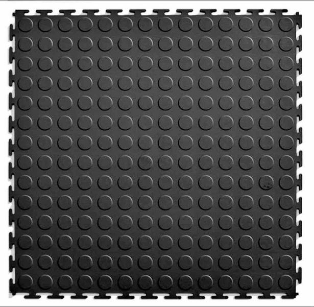 Fine Health - PVC Interlocking Tiles 1 sqm - Black offer at R 198