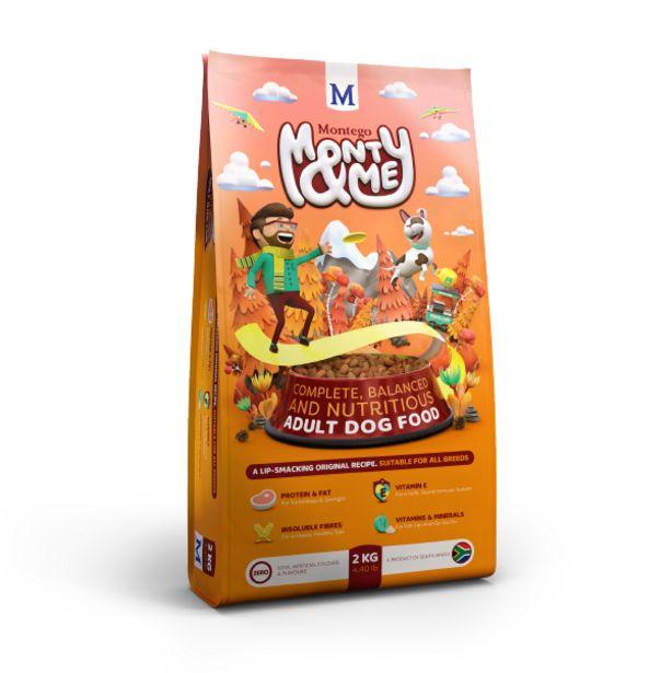 Montego - Monty & Me Adult Dog Food offers at R 59