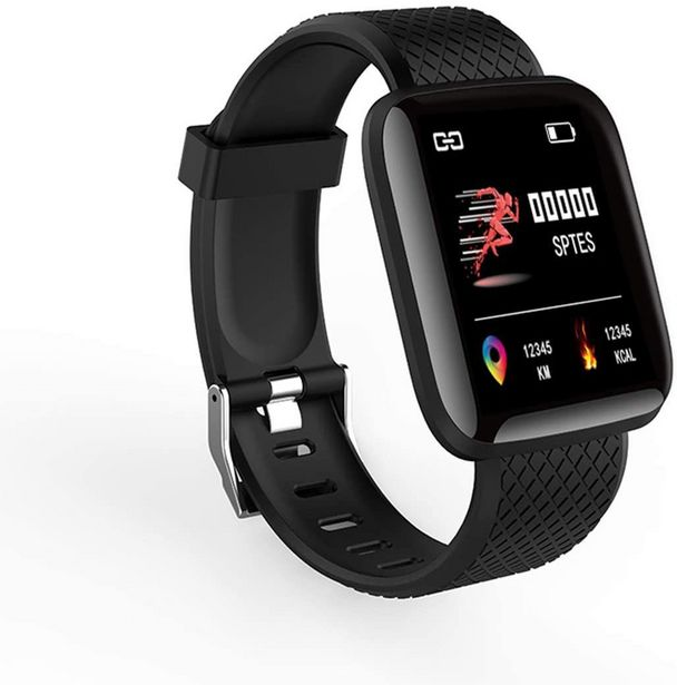 116p Smart Watch With Heart Rate Monitor offer at R 349