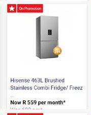 Hisense Fridge / Freezer offers at