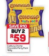 Cadbury Chocolate Party Pack 2 offer at R 59