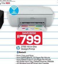 HP Deskjet All-in-One Printer offer at R 799