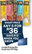 Jungle Energy Bar offer at R 36