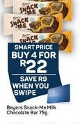 Beters Milk Chocolate Bar offer at R 22