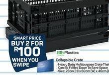 Collapsible Crate offer at R 100