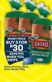 Sasko Bread offer at R 30