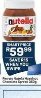 Nutella offer at R 59,99