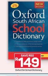 Oxford SA School Dictionary offer at R 149