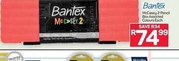 Bantex Pencil Box offer at R 74,99