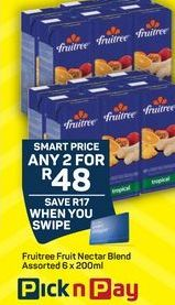 Fruitree Fruit juice  offers at R 48