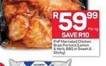 Pick n Pay Marinated Chicken  offers at R 59,99