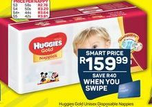 Huggies Disposable Nappies offer at R 159,99