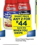 Clover Mayonnaise 2 offer at R 44