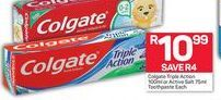 Colgate Toothpaste offer at R 10,99