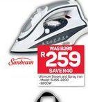 Sunbeam Iron offer at R 259