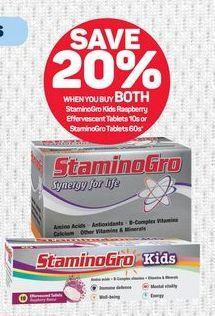 StaminoGro offer at