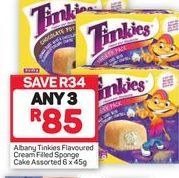 Tinkies Sponge Cakes 3 offer at R 85