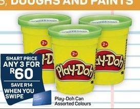 Play-Doh Can Colours offer at R 60