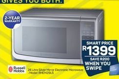 Russell Hobbs Microwave Oven  offer at R 13999