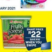 Clover Frozen Strawberry offers at R 22