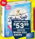 Baby Soft Toilet Rolls offers at R 53,99