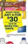 Jungle Energy Bar 4 offer at R 30