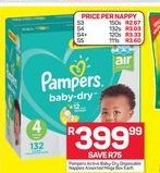Pampers Disposable Nappies offer at R 399,99