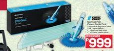 Swimvac Pool Cleaner Combi Pack offer at R 999