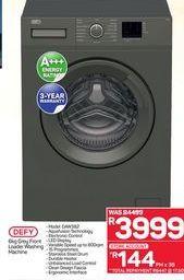 Defy Front Loader Washing Machine  offer at R 3999