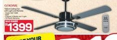 Gold Star Ceiling Fan  offer at R 1399