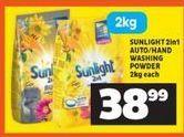 Sunlight Washing Powder offer at R 38,99