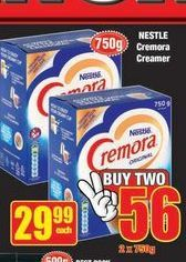 Nestlé Cremora Tea and Coffe Creamer offer at R 29,99