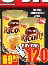 Nescafé Ricoffy  offer at R 69,99